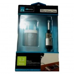 Cargador de Pared IGoma micro USB 3.5 para iPhone 5/6 y iPad
