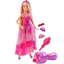 Muñeca Barbie Reino de Peinados 30 cm JNBMTL347_1