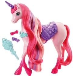 Muñeca Barbie Unicornio Reino de Peinados Magicos 30 cm JNBMTL348_1