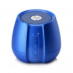 Parlante Hewlett Packard S6500 Bluetooth Azul Metal