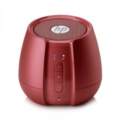 Parlante Hewlett Packard S6500 Bluetooth Rojo Metal