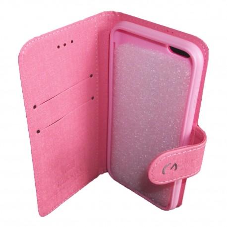 Funda Tipo Folio Igoma Iphone 6 Rosado