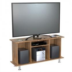 Mesa TV 42 Pulgadas Inval Cordoba Amaretto 120 x 61 x 35 cm