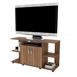 Mesa Tv Practimac 2 Puertas Color Miel 120 x 68 x 38 cm