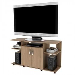 Mesa Tv Practimac 2 Puertas Color Rovere 120 x 68 x 38 cm