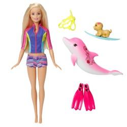 Muñeca Barbie y los Delfines Mágicos 30 cm JNBMTL377_1