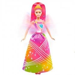 Muñeca Barbie Reino de Arcoiris Princesa luces brillantes