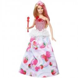 Muñeca Barbie Villa Caramelo Luces y Sonidos Mattel 30 cm