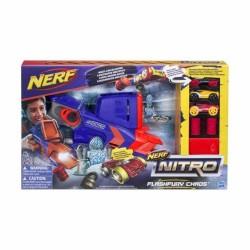 Lanzador de Autos Nerf Set Nitro FlashFury Chaos