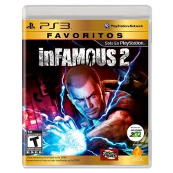 Videojuego Infamous 2 PS3 Fisico Sony Favoritos VDJSNY429_1