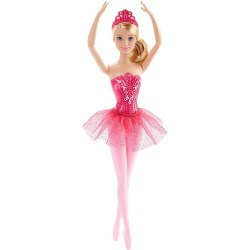 Muñeca Barbie Bailarina Mattel Hada Rosa 30cm