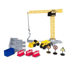 Playset Maquinas de construccion Caterpillar 30 cm