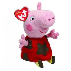 Peluche Ty Toys Peppa Pig El Charco 15 cm