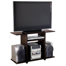 Mesa para TV 32 Maderkit BK31703 Wengue 98x63x35cm