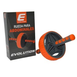 Rueda Abdominal Plus Evolution Naranja/gris