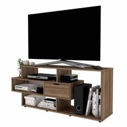 Mesa Practimac Para Tv Boreal Miel 139x58x34cm
