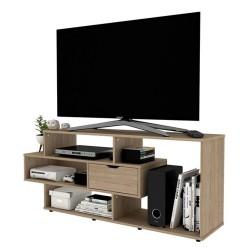Mesa Practimac Para Tv Boreal Rovere 139x58x34cm