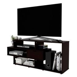 Mesa Practimac Para Tv Boreal Wengue 139x58x34cm