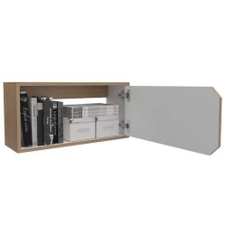 Repisa Rectangulo Con Puerta Practimac Rovere 60x30x20cm