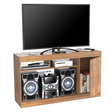 Mesa Para Tv Inval 50 pulgadas 7919 Amaretto 132x74x37cm