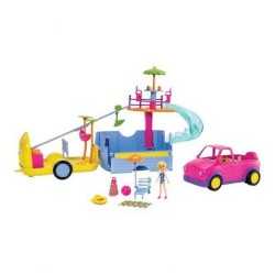 Set de Playa Polly Pocket Autocaravana