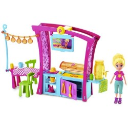 Muñeca Polly Pocket Parrillada Divertida Mattel Set x 13