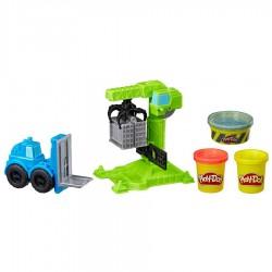 Play-doh Wheels Grúa Y Montacarga Hasbro 15x20x5cm