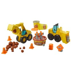 Play-doh Wheels Excavadora Y Cargadora Hasbro 15x20x5cm