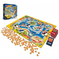 Juego de Mesa Hot Wheels World Tour Ronda 22x26x1cm