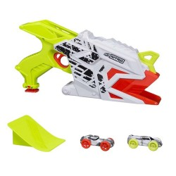 Lanzador Nerf Nitro Aerofury Ramp Rage con 2 Coches Hasbro