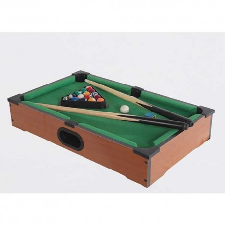 Mini Juego De Mesa Billar Pool 32x11x52cm