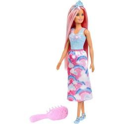 Muñeca Barbie Dreamtopia Peinados Mattel 30cm