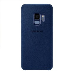 Carcasa Samsung Galaxy S9 Alcantara S9 Azul Luxurious