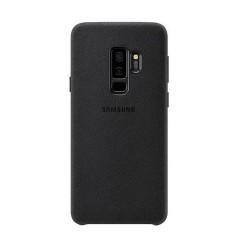 Carcasa Negro Samsung Galaxy S9 Alcantara S9 Luxurious