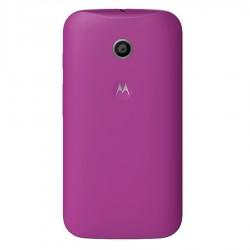 Carcasa Shell Moto E Morado Motorola