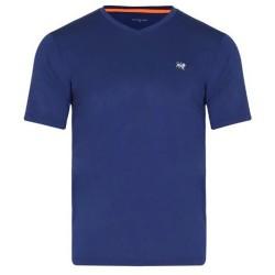 Camiseta Patprimo Deportiva Hombre Manga Corta Azul Talla S