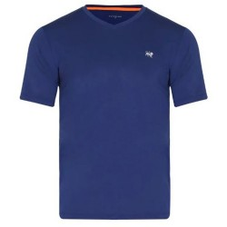 Camiseta Patprimo Deportiva Hombre Manga Corta Azul Talla L
