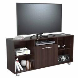 Mesa Para Tv 60 Pulgadas Inval Wengue 140x65x36cm