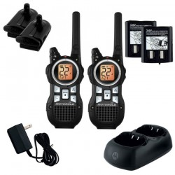 Dos Radios Motorola talkabout MR350 35 Millas USB Recargable