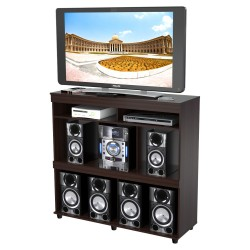 Mesa TV Inval Wengue Multiusos 120 x 113 x 40 cm