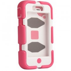 Funda Survivor iPhone 5 Rosa-Blanco Griffin