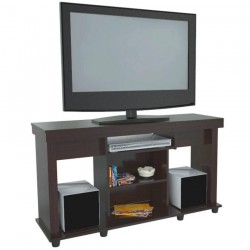 Mesa TV y Video INVAL para TV Wengue 120 x 67 x 38 cms