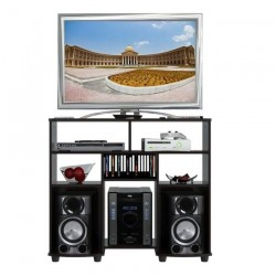 Mesa TV y Video 100 x 87 x 38 cm Inval Wengue