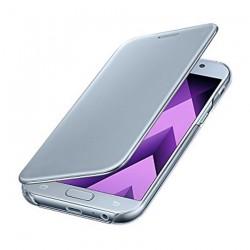 Carcasa Samsung Clear Cover Blue Black Serie A7 Blanco Azul CTGSAM296_1
