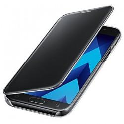 Carcasa Samsung Clear Cover Gris Galaxy Serie A7