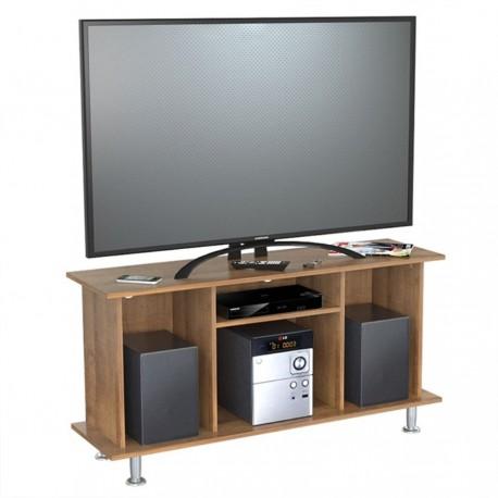 Mesa TV 42 Pulgadas Inval Cordoba Amaretto 120 x 61 x 35 cm HOGPMC371_1