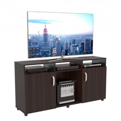 Mesa Para Tv 60 Maderkit Cali Wengue 140x70x36cm