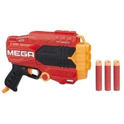 Lanzador Nerf Mega Tri Break 33x30x6cm