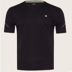 Camiseta Patprimo Deportiva Hombre Cuello Redondo Negro M