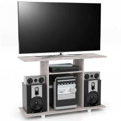 Mesa TV Maderkit 40 Pulgadas BK31703 Ceniza 100x67x35cm